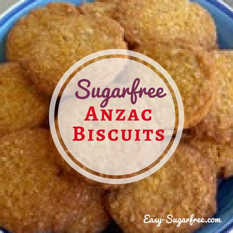 anzac biscuits on a plate