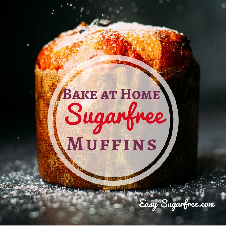 sugar free muffins to bake at home