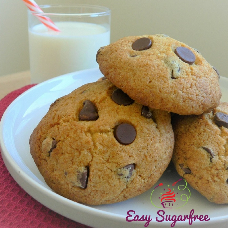 Choc Chip Cookies Sugar Free