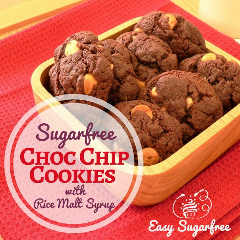 Double Choc Chip Cookies Sugar free