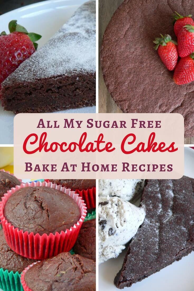 Sugar free chocolate cake recipes