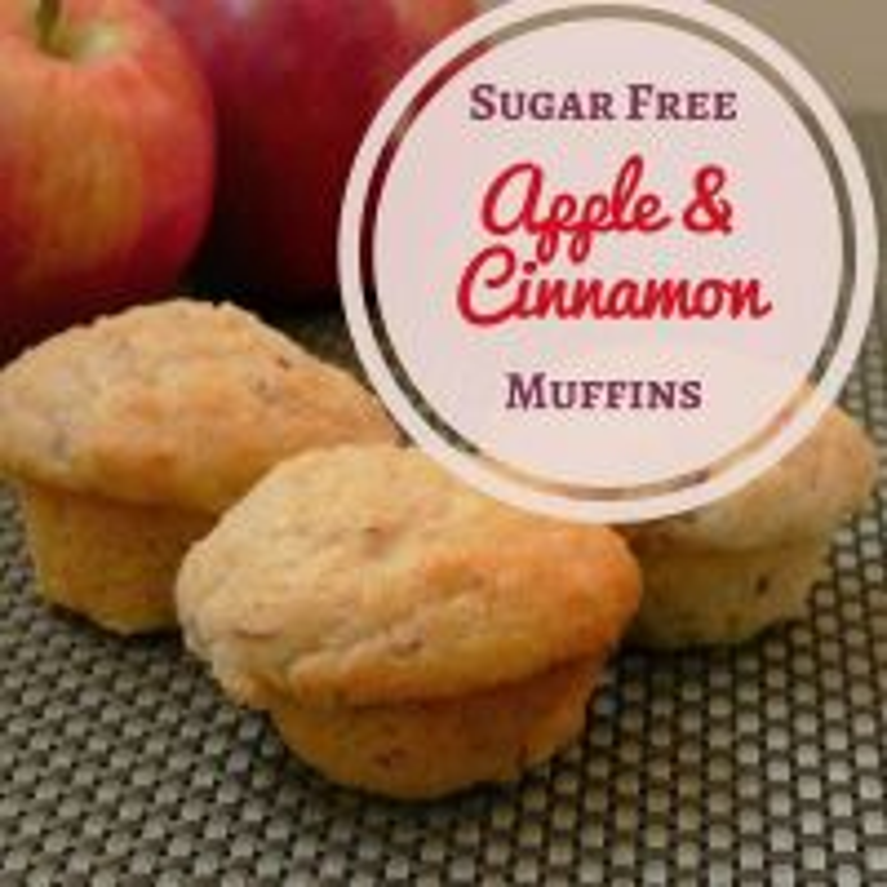 Apple Muffins Sugar Free