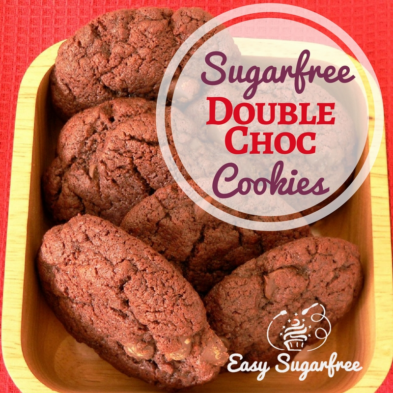 Choc Chip Cookies Sugar Free