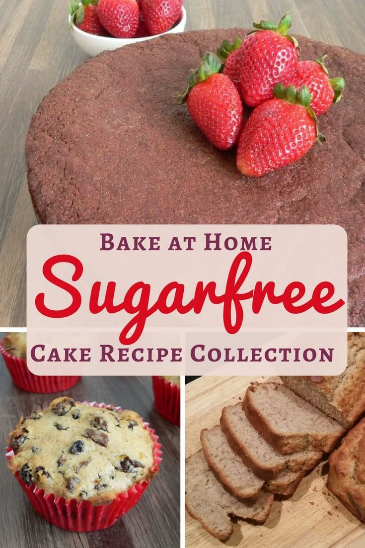 Sugar free cake recipes to bake at home