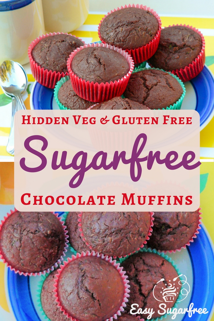 Chocolate muffins that are sugar free