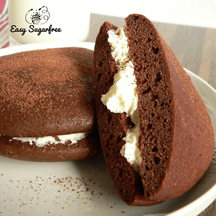 Chocolate Whoopie Pie sugar free cake recipe