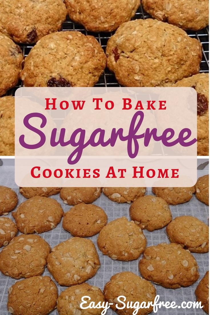 Chewy Sugar Cookies |Sugar Free Cookie Recipes