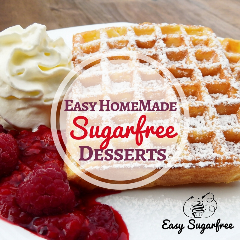 sugar free desserts to make at home