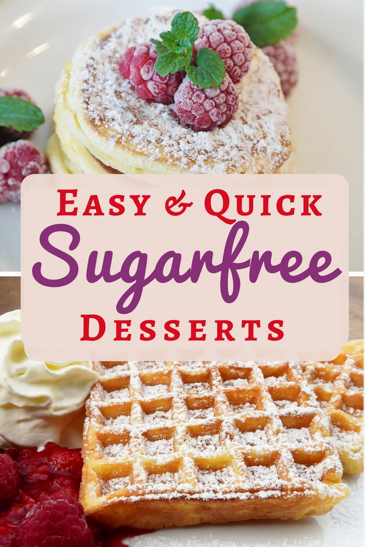 11 sugar-free desserts to make tonight. Whether you're quitting sugar for good, or just cutting down, these sweet treats will see you through. *Free from refined sugar.