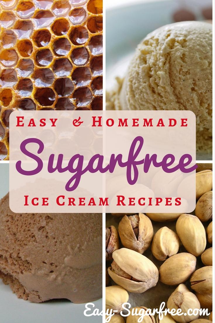 sugar free ice cream recipes
